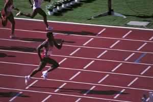 Carl Lewis in the Race