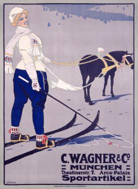 C. Wagner Sportartikel by Carl Moos