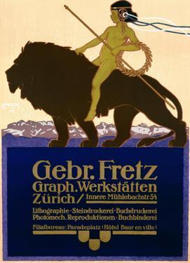 Gebr Fretz by Carl Moos