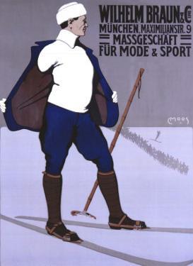 Wilhelm Braun Massgeschaft by Carl Moos