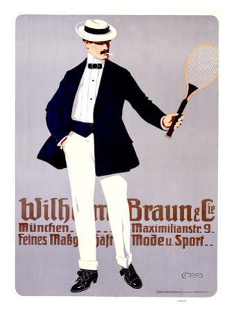 Wilhelm Braun by Carl Moos