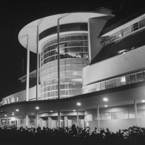 An Exterior View of the Jai-Alai in Manila by Carl Mydans