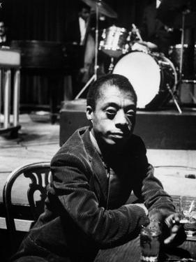James Baldwin by Carl Mydans