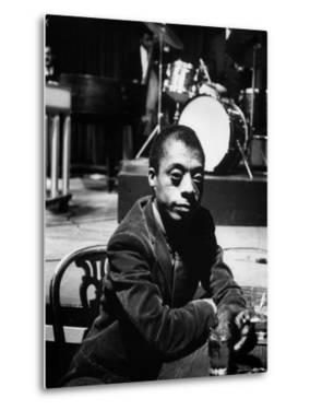 James Baldwin by Carl Mydans