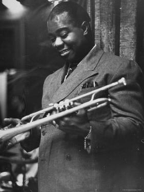 Louis Armstrong by Carl Mydans
