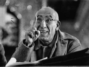 Mohamed Mossadegh, Premier of Iran, Correcting the Prosecutor's Grammar at His Trial by Carl Mydans