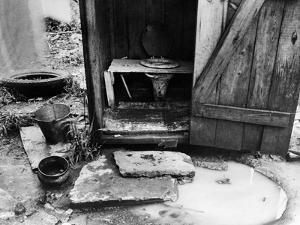 Outdoor Toilet, 1935 by Carl Mydans