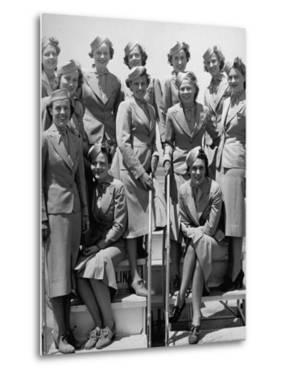 United Airlines Stewardesses by Carl Mydans