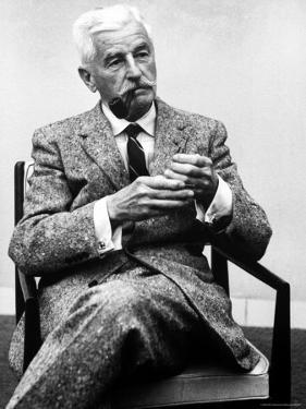 William Faulkner by Carl Mydans