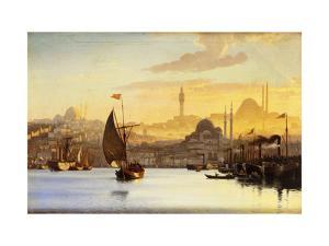 Constantinople by Carl Neumann