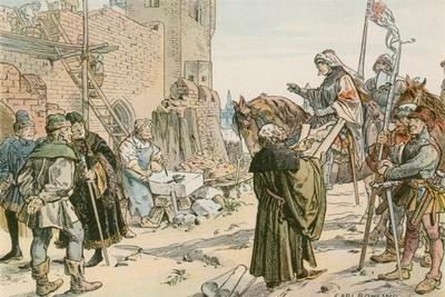 Frederick II at the Laying of the Foundations of the Castle on the River Spree in 1443