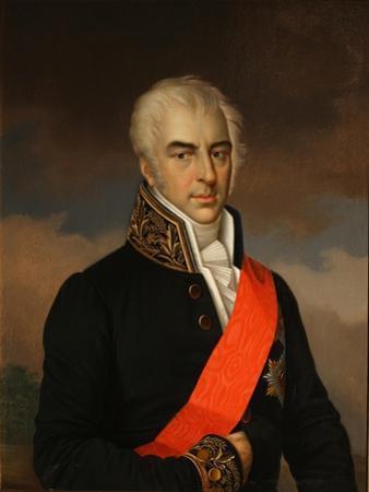 Portrait of Count Alexei Kirillovich Razumovsky (1748-182), 1849