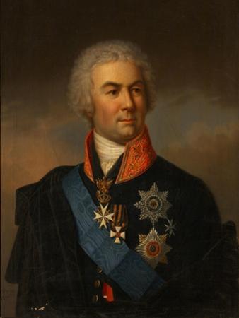Portrait of Count Pyotr Zavadovsky, 1849