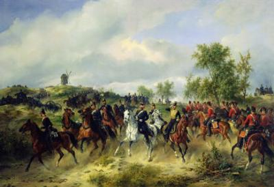 Prussian Cavalry on Expedition, c.19th