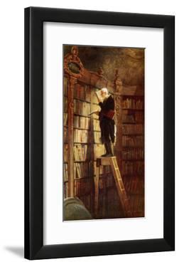 Bookworm by Carl Spitzweg