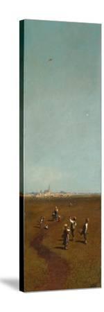 Flying Kites, Ca 1880-1885 by Carl Spitzweg