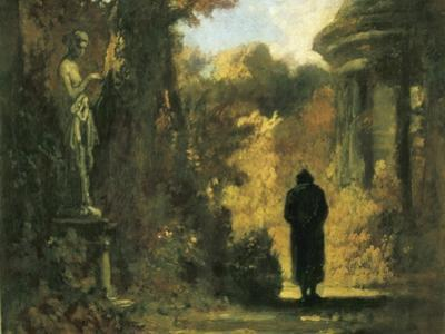 The Philosopher in the Park by Carl Spitzweg