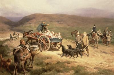 Grouse Shooting on the Glentanar Estate in Aberdeenshire, 1889