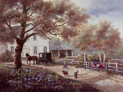 Amish Country Home by Carl Valente