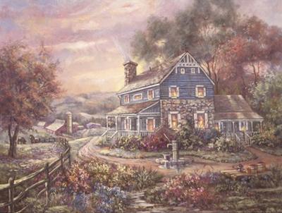 Hill Top Farms by Carl Valente