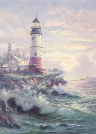 Lighthouse Cove by Carl Valente