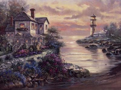 Lighthouse Point by Carl Valente
