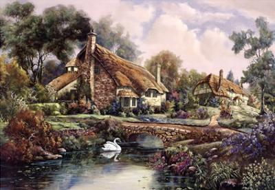 Village Of Dorset by Carl Valente