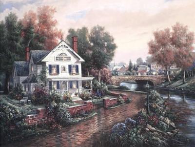 Vintage Island Home by Carl Valente