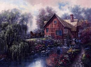 Willow Creek Mill by Carl Valente