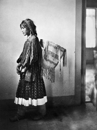 Apache Woman, C1902 by Carl Werntz