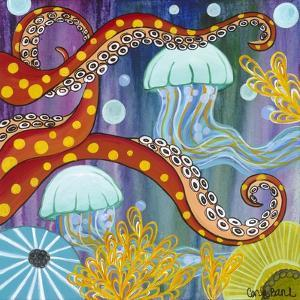 Jelly Fish by Carla Bank