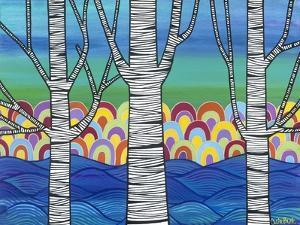 Lake View by Carla Bank
