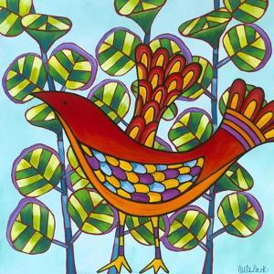 Red Bird by Carla Bank