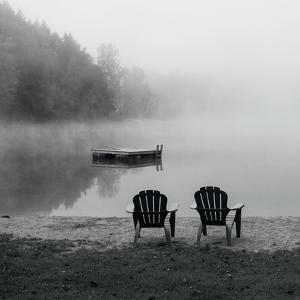 Contemplating the Morning Mist Crop by Carla Kimball