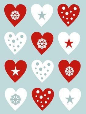 Christmas Hearts by Carla Martell