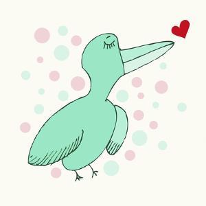 Dreamy Love Bird by Carla Martell