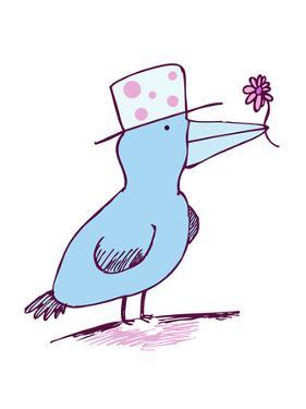 Flower Bird by Carla Martell