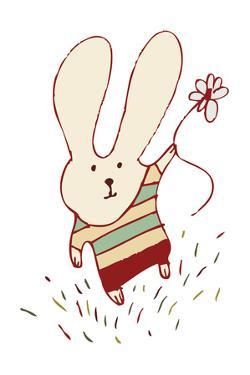 Flower Bunny by Carla Martell