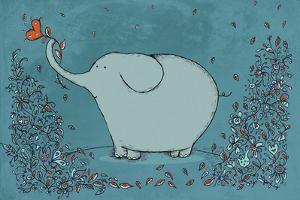 Garden Elephant by Carla Martell