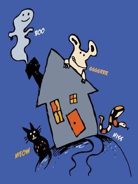 Halloween House by Carla Martell