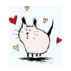 Little Pink Cat by Carla Martell