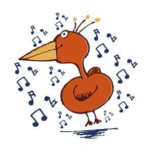Music Bird by Carla Martell