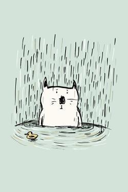 Soggy Cat by Carla Martell