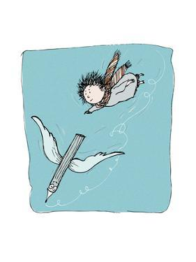The Flying Pencil by Carla Martell