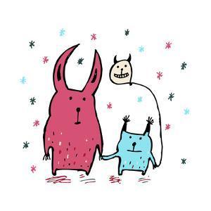 Two Little Monsters by Carla Martell
