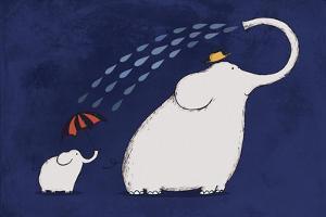 Umbrella Elephant by Carla Martell