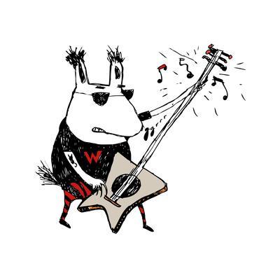 Wild Guitar Wolf