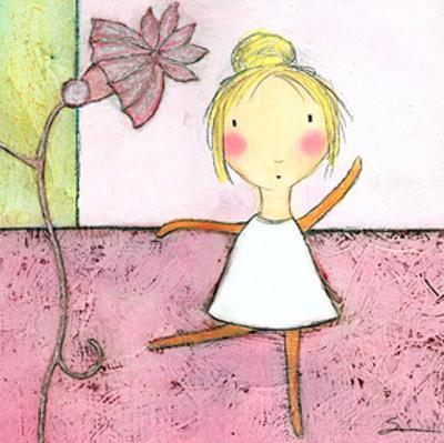 Pink Ballerina by Carla Sonheim