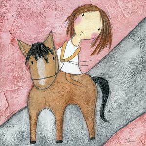 Pink Horse by Carla Sonheim