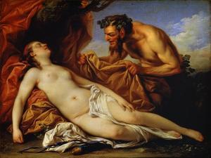 Jupiter and Antiope, C1753 by Carle van Loo